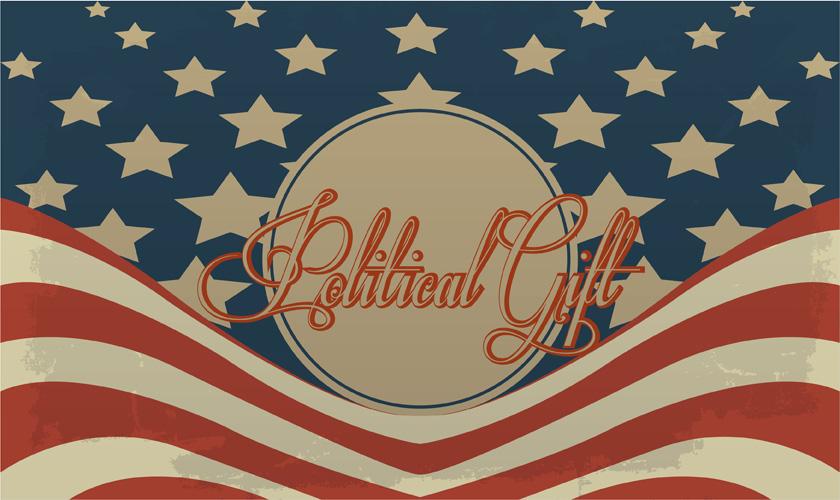 Political gift ideas for Republicans, conservatives, Democrats, liberals, progressives, Independents and Libertarians | PoliticalGift.com